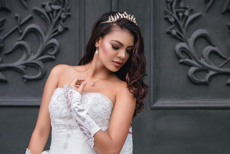 bride white dress wedding photographer in mauritius