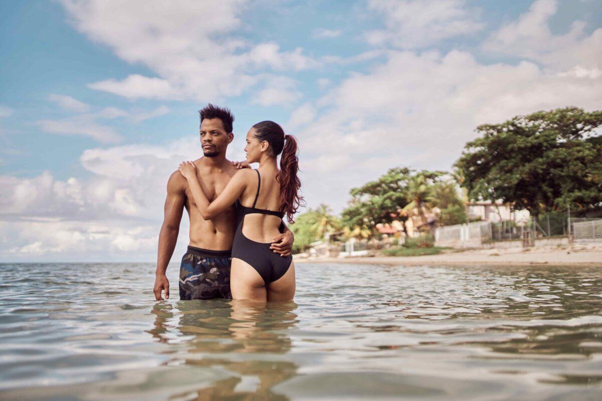 beach photoshoot in Mauritius